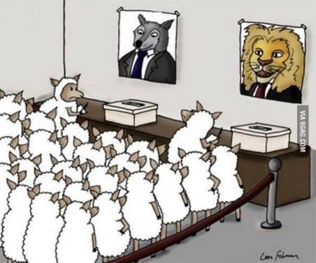 Apakah dengan ikut pemilu akan terjadi perubahan?