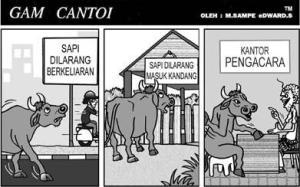 GAM CANTOI DAN SAPI