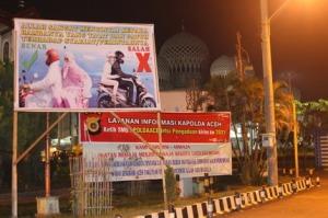 Dilarang Ngangkang di Lhokseumawe, Aceh, Indonesia