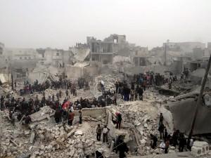 Perang Saudara Suriah 15 Maret 2011 - sedang berlangsung sebuah konflik kekerasan internal yang sedang berlangsung di Suriah