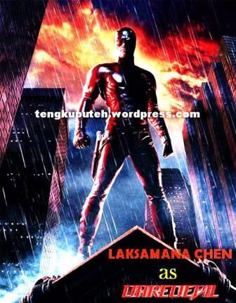 1. LAKSAMANA CHEN AS DAREDEVIL