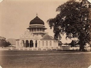 Masjid Raya Baiturrahman zaman Kolonial Belanda