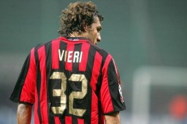 Vieri has not made much of an impact at AC Milan