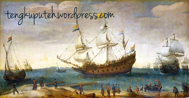 Kapal-kapal VOC, tak lain merupakan bajak laut putih yang memproklamirkan misi membawa peradaban kepada bangsa-bangsa di Nusantara. Padahal di belakangnya jelas tujuan mereka datang ke Nusantara adakah untuk