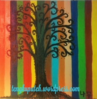 Sebatang Pohon (Lukisan Koleksi)