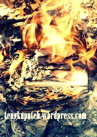 Pembakaran buku adalah pembunuhan intelektual