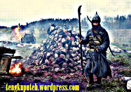 Penaklukkan Mongol senantiasa meninggalkan bukit-bukit tengkorak