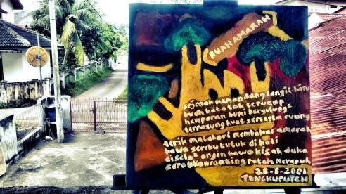 Lukisan Buah Amarah (dijual)