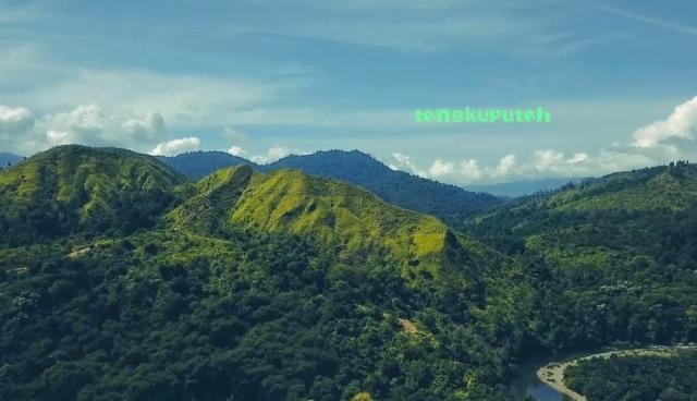 Pegunungan Jalin di Jantho Aceh Besar