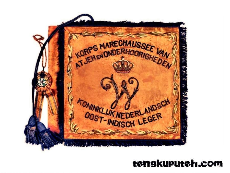 Bendera Korps Marsose sumber Dutch Document
