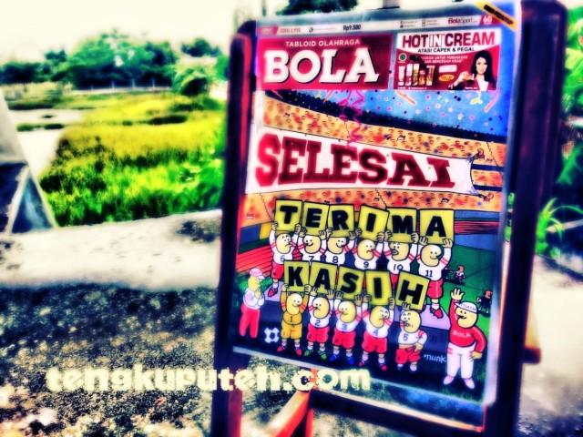 Tabloid BOLA edisi terakhir