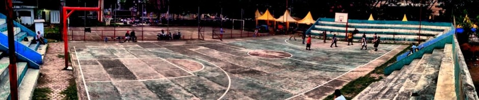 Lapangan Basket di Blang Padang Banda Aceh