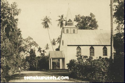 Gereja pertama di Aceh 1874