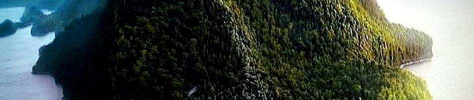 Foto Sabang terlihat dari udara. Guratan-guratan di punggungnya menyerupai tubuh sang Naga.