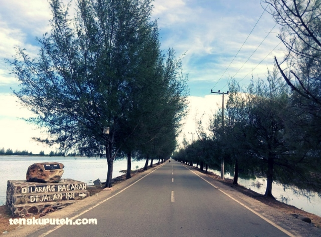 Kawasan pantai Alue Naga