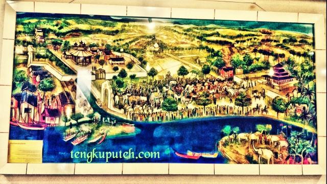 Lukisan Bustanus Salatin koleksi Museum Budaya Aceh