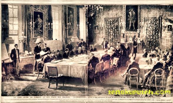 Perundingan Traktat Sumatera antara Inggris dan Belanda pada tahun 1871 Mesehi.